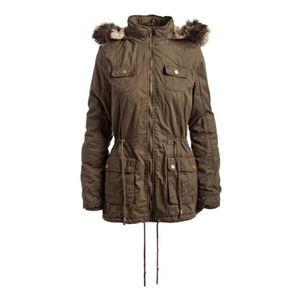 [ROYALTY FOR ME]Winter Coat Jacket Hood